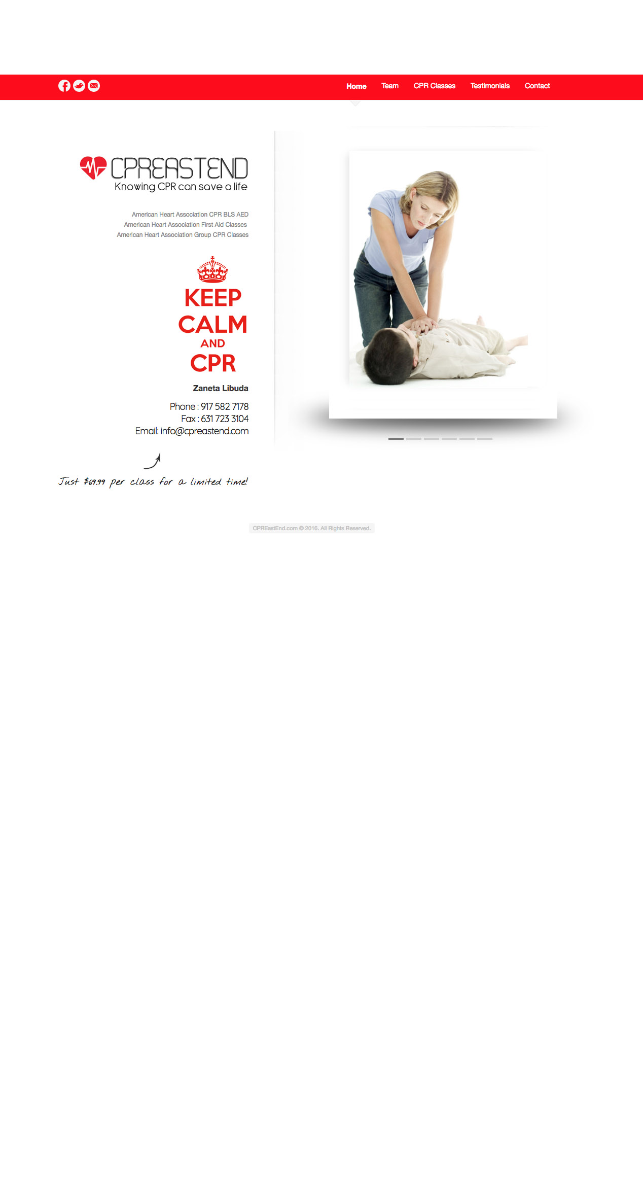 cpr classes training course hamptons